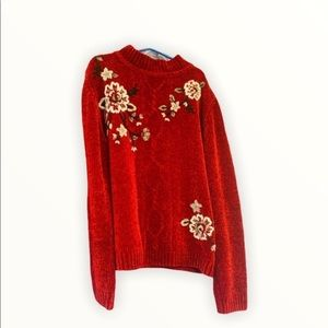 Alfred Dunner Embroidery Sweater